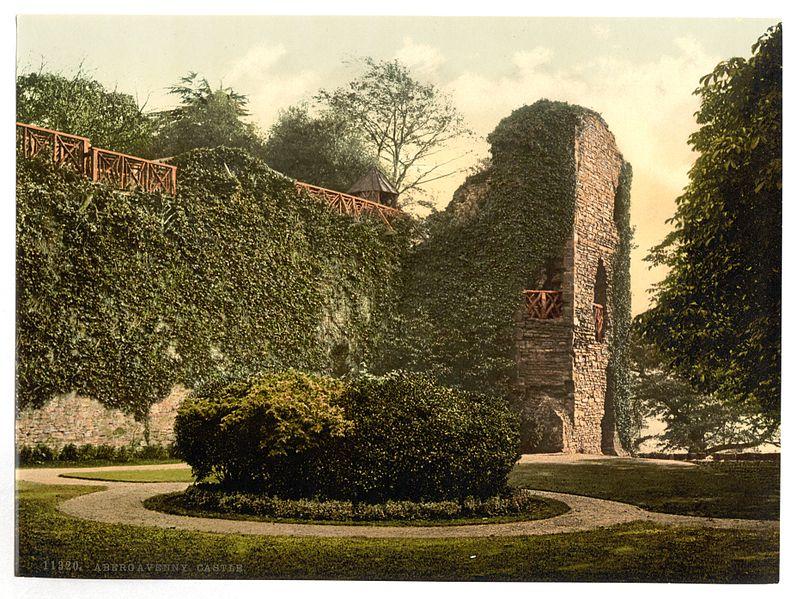 Abergavenny_Castle-LCCN2002696354