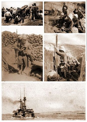 Dardanelles_WWI_collage
