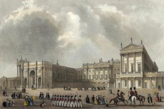 Buckingham_Palace_engraved_by_J.Woods_after_Hablot_Browne_&_R.Garland_publ_1837_edited