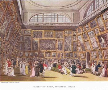 800px-The_Exhibition_Room_at_Somerset_House_by_Thomas_Rowlandson_and_Augustus_Pugin._1800.